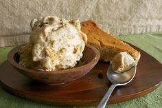 Pumpkin Cheesecake Gelato