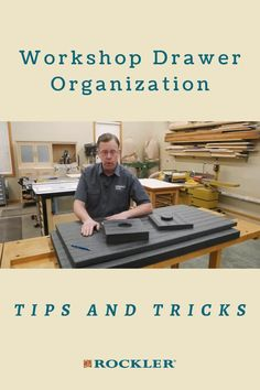 What is the best drawer organization system? That depends on what your storing in the drawer. In this Rockler demonstration you'll learn three solutions that will help you organize your drawers. We'll show you two drawer insert options and a way to capture wasted space in deep drawers. #CreateWithConfidence #ShopOrganization #DrawerOrganizers #LockAlign #DrawerOrganizationSystem Rockler Woodworking, Cool Woodworking Projects, Learn Woodworking, Woodworking Videos, Workshop Organization, Organization Hacks, Drawer Inserts, Drawer Organisers, Cabinet Drawers