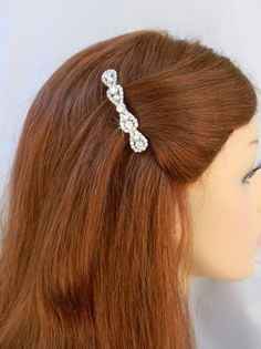 Hey, I found this really awesome Etsy listing at https://www.etsy.com/listing/173721500/crystal-bridal-hair-clip-swarovski
