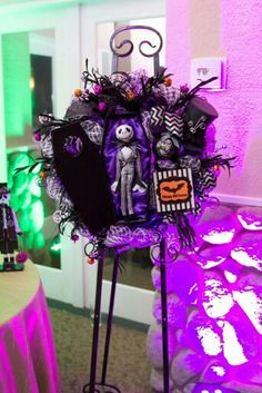 My amazing and perfect nightmare before christmas wedding 2014