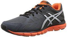 Asics Gel Zaraca 3 - Zapatillas de running para hombre, color D.Charc/Silv/Or, talla 43.5 - http://paracorrer.com/producto/asics-gel-zaraca-3-zapatillas-de-running-para-hombre-color-d-charcsilvor-talla-43-5/