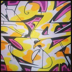#detailshotoftheweek #bates #alby #aots #wallsoffame #tour #graffiti #august #2013 #Padgram