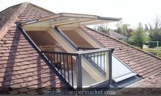 attic deck...this would be amazing!