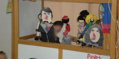 Κουκλοθέατρο για 28η Οκτωβρίου - Popi-it.gr 28th October, Autumn Activities, Toy Chest, Doll Clothes, Kindergarten, Family Guy, Diy Crafts, Dolls, Fictional Characters