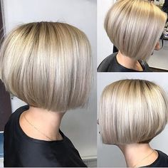 "257 Likes, 3 Comments - @bobbedhaircuts on Instagram: ""Credit to @trisha_aka_paris ""So this is the #bob cut I ended up getting. Didn't get to have my…"""