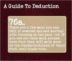 A Guide To Deduction, Submitted by: padfoot10