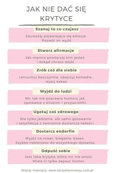 Positive Self Affirmations, Positive Vibes, Polish Language, Therapy Journal, Pretty Notes, Good Habits, Life Motivation, Self Development, Peace Of Mind