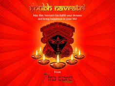 Happy Navratri May this Navratri Ma fulfill your dreams and brings happiness in your ife!