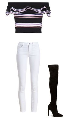 """""""Untitled #89"""" by avakitchen on Polyvore featuring MSGM and Barbour"""