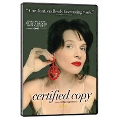 Certified Copy - Juliette Binoche puts in an award-winning performance as a young gallery owner who may or may not be married to an English author she has purportedly just met; an enigmatic and deeply layered love story from Iranian filmmaker Abbas Kiarostami