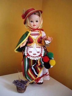 Canary Islands, Folklore, Regional, Virginia, Spain, Costumes, Dolls, Classic, Vestidos