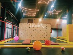 Liben Indoor Trampoline Park Project in Jiangyin, China-2