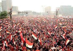 Egypt Tahrir sq - 3 Jul 2013