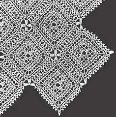 Vintage Crochet - Square Motif Bedspread