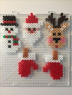 Christmas bead search results – Bügelperlen – Hama Beads Perler Bead Templates, Diy Perler Beads, Pearler Bead Patterns, Perler Bead Art, Perler Patterns, Hama Perler, Quilt Patterns, Christmas Perler Beads, Hama Beads Design