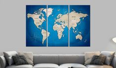 Beautiful cork maps by GLIX Journey, Cork Map, Map Art, Nature Scenes, Wall Hooks, The Ordinary, Screen Printing, Graphic Art, Wall Decor