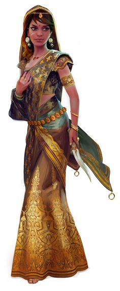 """we-are-rogue:"""" from Ultimate Intrigue (Characters for the Pathfinder RPG) by Mikael Leger Fantasy Character Design, Character Design Inspiration, 3d Character, Character Concept, Fantasy Women, Fantasy Girl, Fantasy Characters, Female Characters, Dark Sun"""