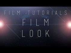 Film Tutorials: Color Correction and Widescreen - YouTube