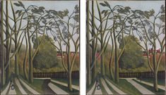 Can you find 5 things that we've changed in this painting by Henri Rousseau? Click through to play the game . Henri Rousseau Paintings, Art Games For Kids, Find 5, Trending Art, French Photographers, Arts Ed, You Gave Up, Art Plastique, 5 Things