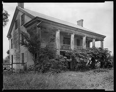 Prescott House, Washington vic., St. Landry Parish, Louisiana - 1938