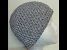 Crochet a Basic Beanie Tutorial - Half Double Crochet