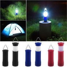 3 Colors 3W Tent Camping Lantern Light Hiking LED Flashlight Torch Outdoor Lamp-in Flashlights & Torches from Lights & Lighting. $2.40