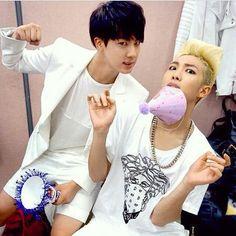 Jin, RapMon. How funny!