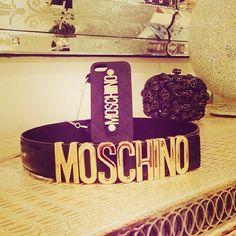 Photo by xoxoririi  #moschino #mymoschino #iphone #cover #case #bag #belt