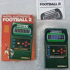 Mattel Electronics Football 2.  It added the mind blowing ability to pass to running and kicking.  Red lights representing players and the bleeps and bloops for sound were revolutionary at the time.