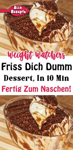 Köstliche Desserts, Low Carb Desserts, Gnocchi, Food And Drink, Pudding, Keto, Sweets, Breakfast, Recipes