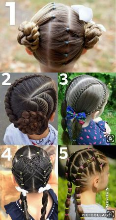 Best Wedding Hairstyles for Flower Girls – Braids – Braided hairstyles Lil Girl Hairstyles, Kids Braided Hairstyles, Best Wedding Hairstyles, Amazing Hairstyles, Simple Hairstyles, Braids For Kids, Girls Braids, Girl Hair Dos, Toddler Hair