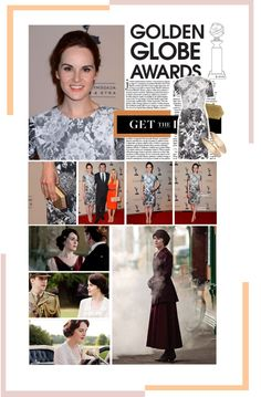 """""""Most Fashionable Nominee: Michelle Dockery"""" by rnoinge ❤ liked on Polyvore"""