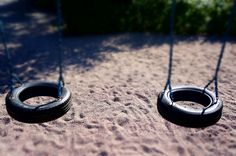 Simple joys- no one on the tire swings.  ~@Magnus Lillieborg
