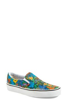 Vans 'Classic - Liberty Era' Slip-On Sneaker (Women) available at #Nordstrom