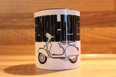 Vespa Becher Roller Motorroller Geschirr Tasse 2