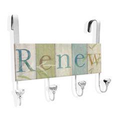 Renew Over The Door Towel Hanger