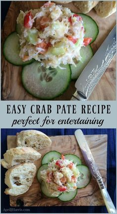 My Easy Crab Pate is