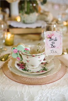 TE DE DESPEDIDA DE SOLTERA - bride to be tea party