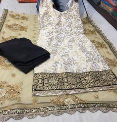 Kurta Pajama Punjabi, Punjabi Salwar Suits, Designer Punjabi Suits, Punjabi Dress, Indian Designer Wear, Patiala Salwar, Kurti, Sharara, Anarkali