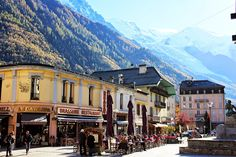 + Chamonix + French Alps + France