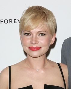 Best Management of Pixie Cut: Michelle Williams. 2012 was the year that short hair went mainstream but Williams has been perfectly managing her exquisite crop, (and consistently coral lip colour) for nearly 3 years now. For this quiet achievement, we salute her.