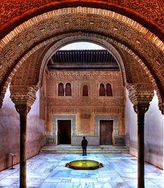 A arte islâmica na Alhambra