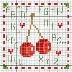 cross-stitch biscornu chart... no color chart available, just use the pattern chart as your color guide.. or choose your own colors...