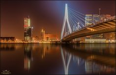 Photograph Reflections of Rotterdam by Herman van den Berge on 500px