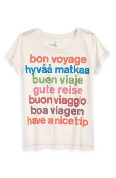 Peek+'Bon+Voyage'+Graphic+Tee+(Toddler+Girls,+Little+Girls+&+Big+Girls)+available+at+#Nordstrom