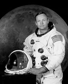 Neil Armstrong the first man on the moon.  Died August 25, 2012 Rest in Peace Neil.