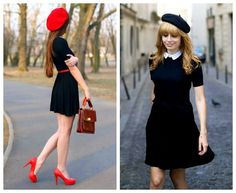 120 beautiful women fashion ideas for valentines day – page 1 Pink Fashion, French Fashion, Paris Fashion, Vintage Fashion, Womens Fashion, Estilo Beatnik, Beatnik Style, Classic Outfits, Chic Outfits