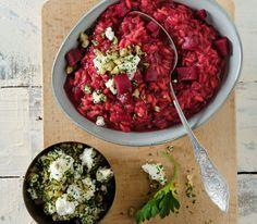 Machen Sie sich unbedingt die Mühe, die Randen selbst zu kochen, sonst schmeckt der Risotto fad.
