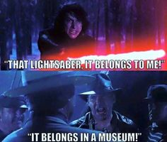 Star Wars the Force Awakens, Indiana Jones, Harrison Ford