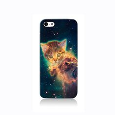 Space Nebula Cat iPhone case, Galaxy S3 Case, iPhone 6 case, iPhone 4 case iPhone 4s case, iPhone 5 case 5s case and 5c case